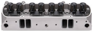 1963-73 LeMans Cylinder Head, Aluminum D-Port Complete, Fully Machined (72cc), by Edelbrock