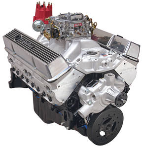 1978-88 El Camino Crate Engine, Performer Hi-Torq, Edelbrock Short Water Pump Satin
