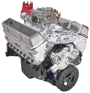 1978-88 El Camino Crate Engine, Performer Hi-Torq, Edelbrock Short Water Pump Polished