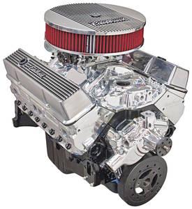 1978-88 El Camino Crate Engine, Performer Hi-Torq, Edelbrock Short Water Pump EnduraShine