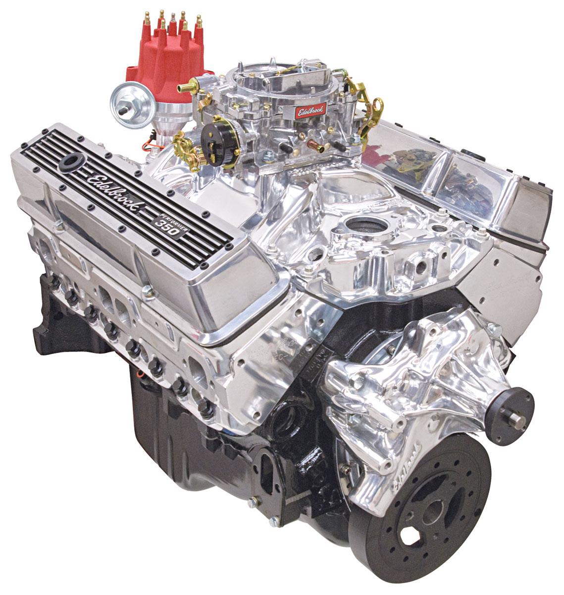 Photo of Crate Engine, Performer Hi-Torq, Edelbrock Long Water Pump polished