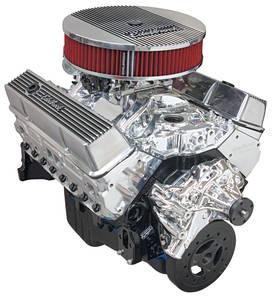 1978-1988 El Camino Crate Engine, Performer Hi-Torq, Edelbrock Long Water Pump EnduraShine