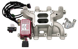 1964-1977 Chevelle Intake Manifold, Performer RPM LS Series w/Timing Control Mod., by Edelbrock