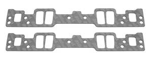 1978-88 Monte Carlo Intake Manifold Gaskets, High-Performance Small-Block 1.08x2.11x0.120, by Edelbrock