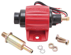 1978-87 T-Type Fuel Pump, Micro Electric, Universal 38 GPH, 4-7 Psi