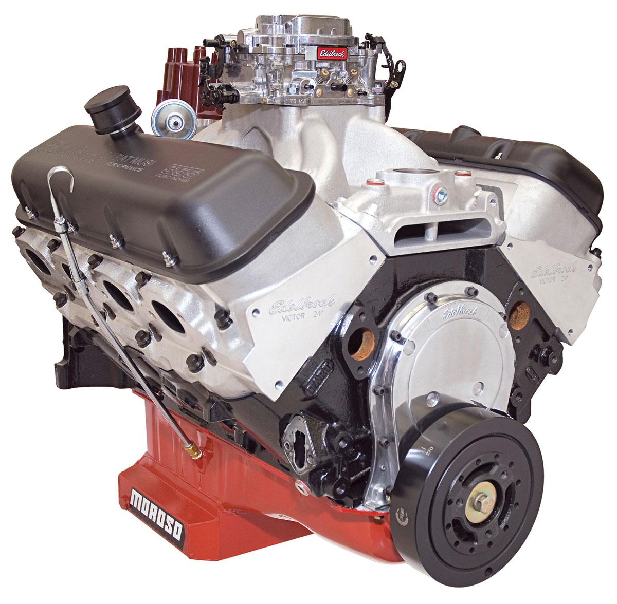 Photo of Crate Engine, 555 RPM, Edelbrock, Musi