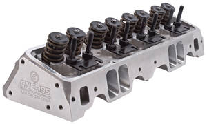 1978-1988 El Camino Cylinder Heads, Small-Block, E-CNC Hydraulic Flat Tappet Complete, 185cc