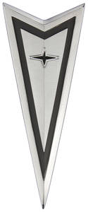 1968-1968 LeMans Nose Emblem, 1968 Arrowhead w/Endura Bumper