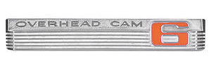 "Tempest Fender Emblem, 1966 ""Overhead Cam 6"""