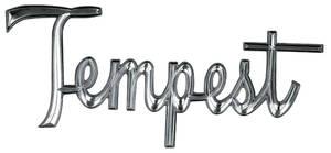 "Quarter Panel Emblem, 1966 ""Tempest"""