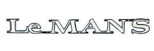 """Quarter Panel Emblem, 1970 """"LeMANS"""""""