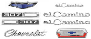 1969-1969 El Camino Nameplate Kits, 1969 El Camino 307