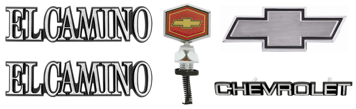 Photo of Emblem Kit, 1982-87 El Camino Complete