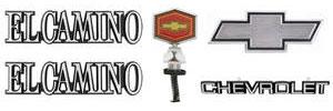 1982-1987 El Camino Emblem Kit, 1982-87 El Camino Complete