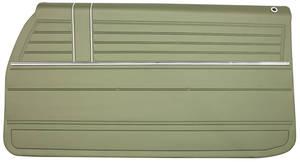 1968 Door Panels, Top Rail Assembled El Camino