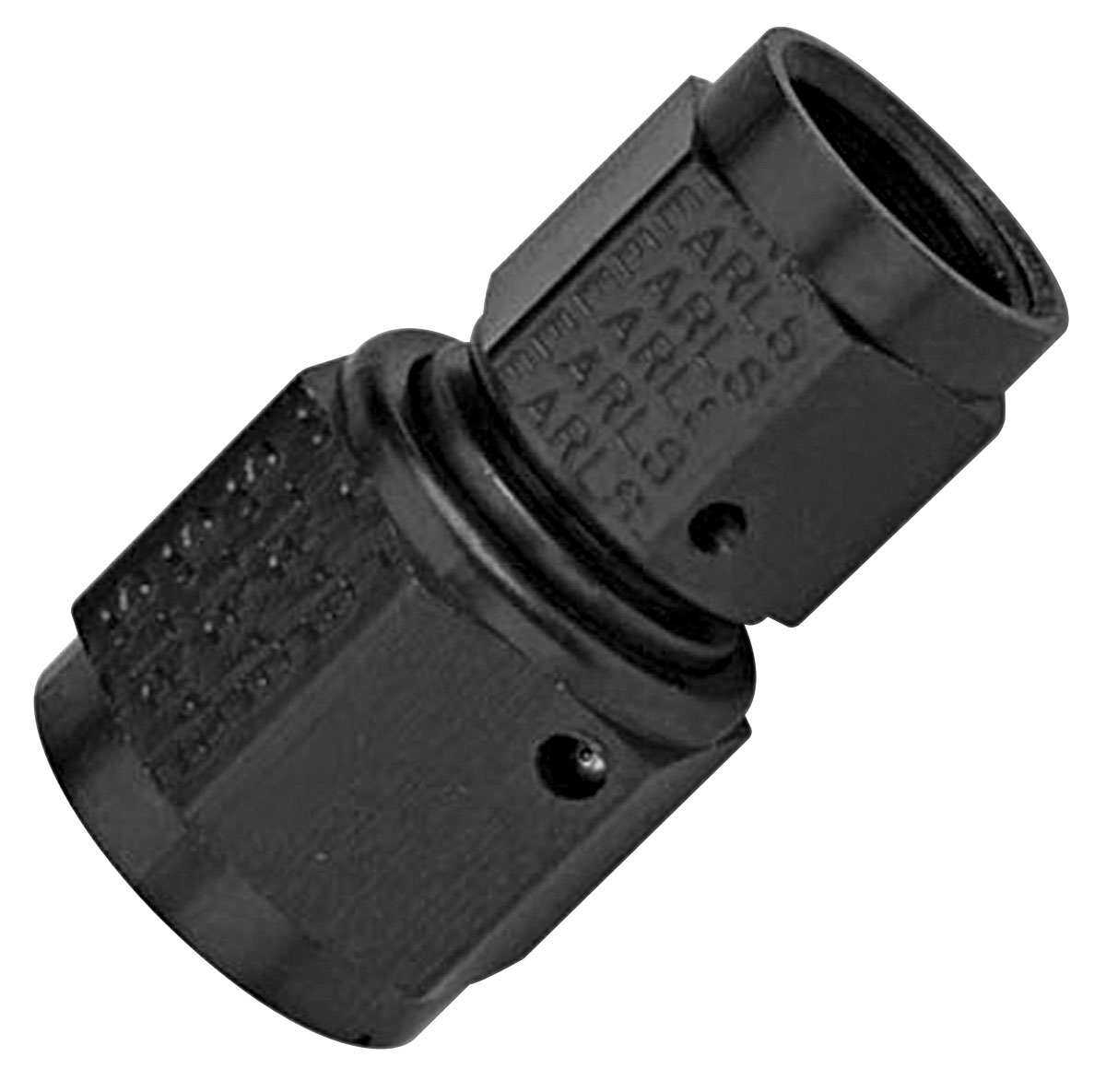 Photo of Adapter Fittings, Earl's Straight Swivel Coupler -6 AN
