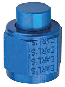 Adapter Fittings, Earl's An Flare Cap -6 AN