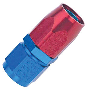 Hose Ends, Swivel, Earl's -8 An red/blue anodized