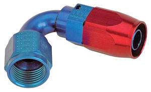 1938-93 60 Special Hose Ends, Swivel, Earl's -6 An 120° Bend