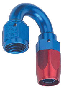 1938-1993 60 Special Hose Ends, Swivel, Earl's -6 An 180° Bend