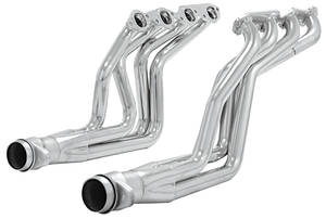 "1968-74 Chevelle Headers, Stainless Steel 396-502 Big-Block Full Length Headers 1-3/4"" Primary, 3"" Ball Flange, 3/8"" Flange, 14ga Tubing, by FLOWMASTER"