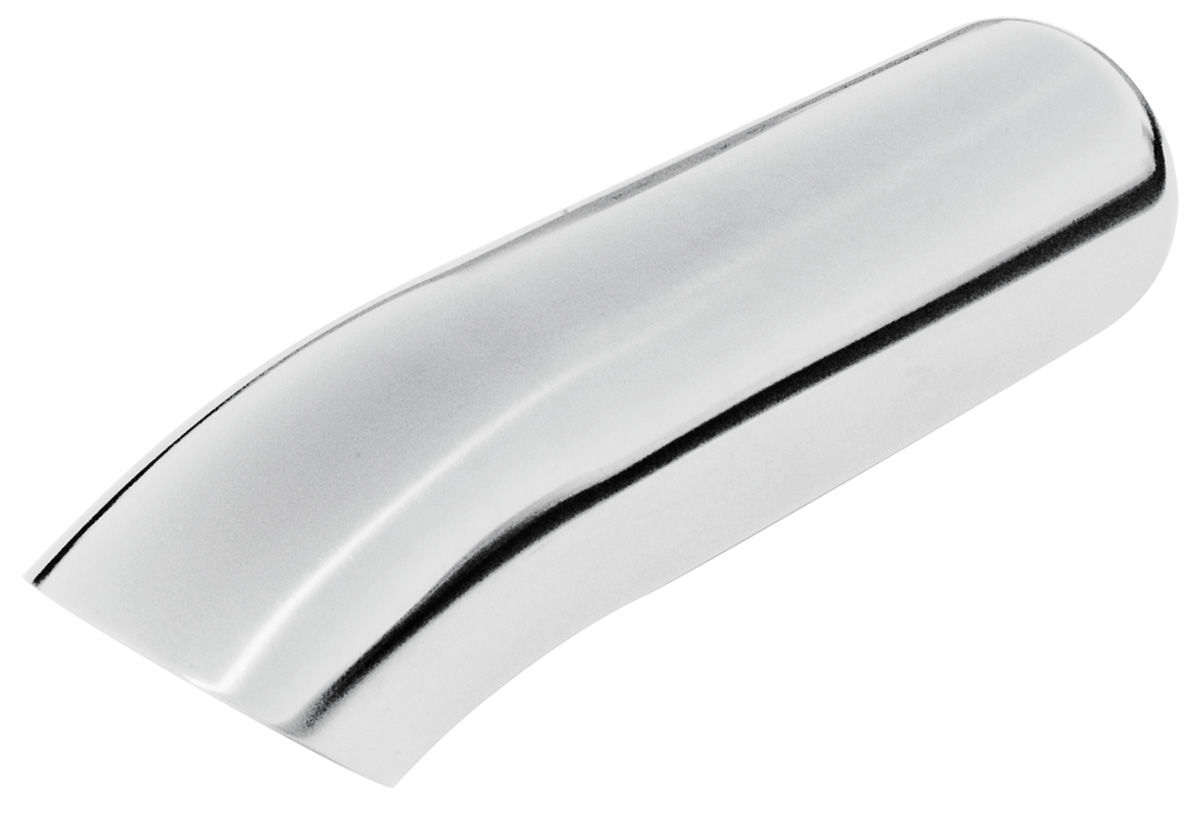 """Photo of Exhaust Tip, Turn-Down (Stainless Steel) 3"""" tip (2-1/2"""" pipe, 11"""" length)"""