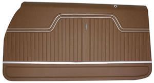 1970-72 Door Panels, Top Rail Assembled Chevelle Front