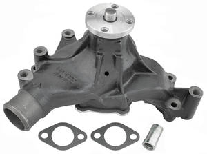 1964-68 Chevelle Water Pump, Original Style Small Block, Short Pump