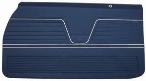 1969 Door Panels, Top Rail Assembled Chevelle Front