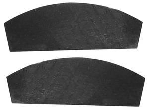 1965-66 Fenderwell Seals, Inner Grand Prix, w/Staples (2-Piece)