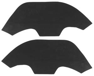 1968-72 El Camino Fenderwell A-Arm Seals, Inner for Plastic Wheel Wells