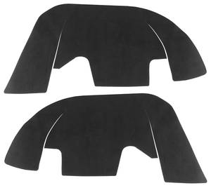 1975-77 Monte Carlo Fenderwell A-Arm Seals, Inner (For Steel Wheel Wells)