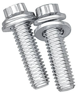 1959-77 Grand Prix Fuel Pump Mounting Bolts Stainless, 12-Pt., by ARP