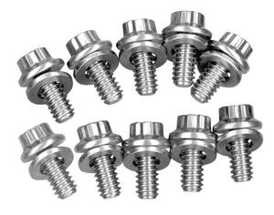 1962-1977 Grand Prix Timing Cover Bolts Stainless, 12-Point, by ARP