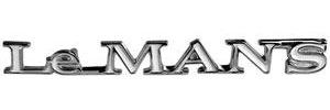 """1970-1970 LeMans Trunk Lid Emblem, 1970 """"LeMans"""""""