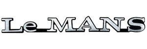 """1972-1972 LeMans Fender Emblem, 1972 """"LeMANS"""""""