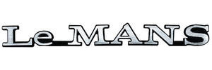 "Fender Emblem, 1972 ""LeMANS"""