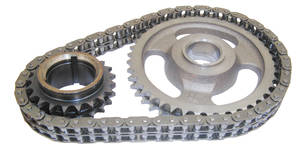 1959-77 Bonneville Timing Chain, Performer-Link True Roller Exc. 301, by Edelbrock