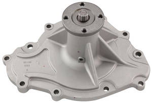 "1969-73 GTO Water Pump, Cast Iron V8, 11-Bolt Style, Late '69 (w/4-1/2"" Hub)"