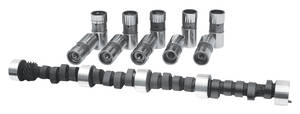 1961-1974 LeMans Camshaft, CL-Kit Hydraulic Flat Tappet XR 264HR (Requires Bronze Distributor Gear), by Comp Cams