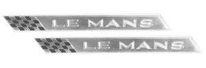"""1964-1964 LeMans Quarter Panel Emblem, 1964 """"LEMANS"""""""