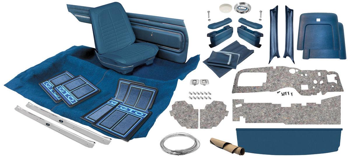 1968 Gto Interior Kit Stage Iii Coupe Opgi Com