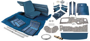 1968 GTO Interior Kit, Stage III, Coupe