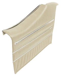 1970-1970 GTO Door Panels, Top Rail Assembled Rear, Coupe, by PUI