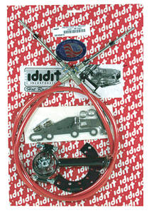 "1964-1977 Cutlass Cable Shift Linkage Assembly 2"" GM Column, by ididit"