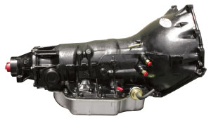 "1964-1976 Bonneville Transmission, Performance TH350 (9"" Ext. Housing), by CALIFORNIA PERFORMANCE TRANS."