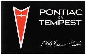 1966 Pontiac Owner's Manuals Tempest