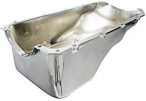 1962-1963 Grand Prix Oil Pan, Chrome