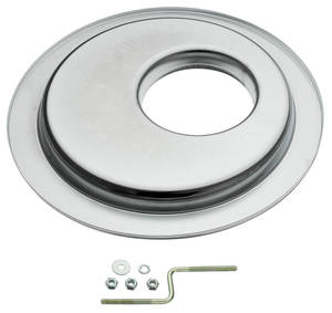 "1959-77 Grand Prix Air Cleaner Base, 14"" Offset"
