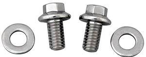 1961-73 GTO Oil Pan Bolts 326-455 Hex Head - Stainless Steel